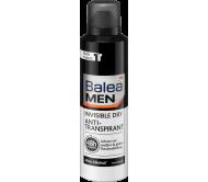 Дезодорант чоловічий спрей Balea невидимий на чорному і білому 200 мл