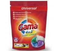Капсули для прання Gama 4 в1 Universal 56 шт