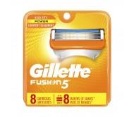 Змінні касети для гоління Gillette Fusion5 8 шт (Америка)