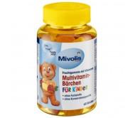 Жувальні мультивітаміни для дітей Mivolis DM 60 шт 120 г