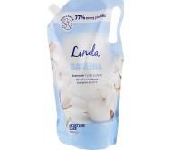 Рідке мило Linda екстракт бавовни дой-пак 1 л